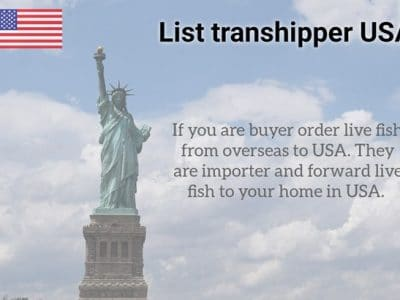List transhipper USA